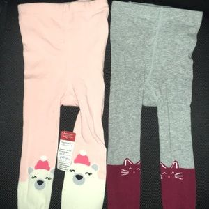 Old Navy Toddler Knit Tights NWT